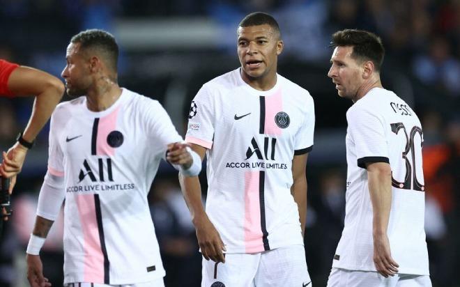 """""""Tam tấu"""" Messi - Neymar - Mbappe ra mắt thảm họa: Người vô duyên, kẻ rời sân sớm - 1"""