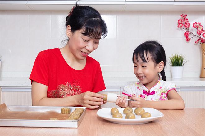 3 cách nướng bánh Trung thu đơn giản, dễ làm - 1