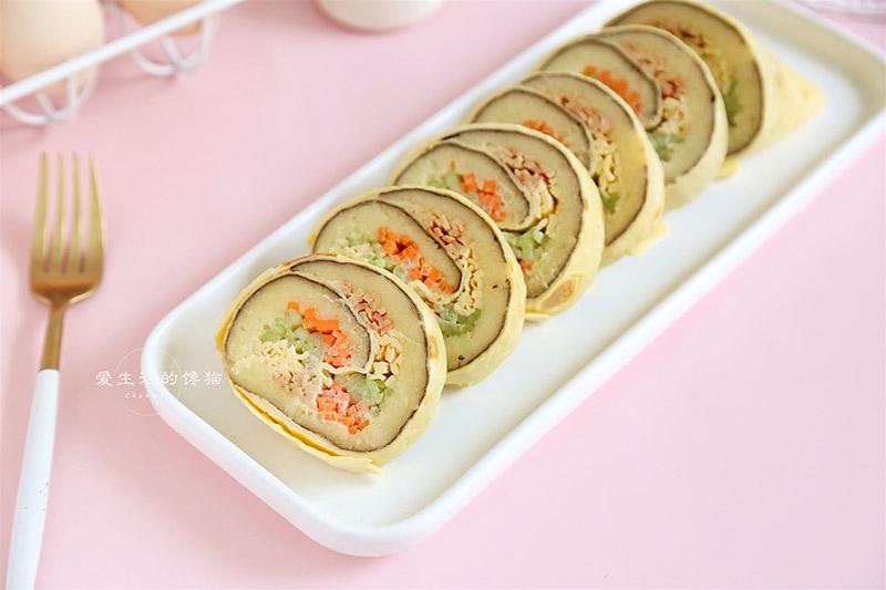 Cách làm món sushi không có hạt cơm nào, ít béo, ít calo mà công thức lại rất dễ - 1