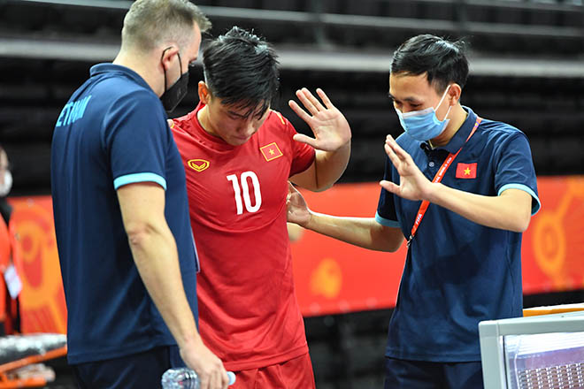 Vỡ òa ĐT futsal Việt Nam khiến CH Séc choáng, lấy vé đi tiếp ở World Cup - 6