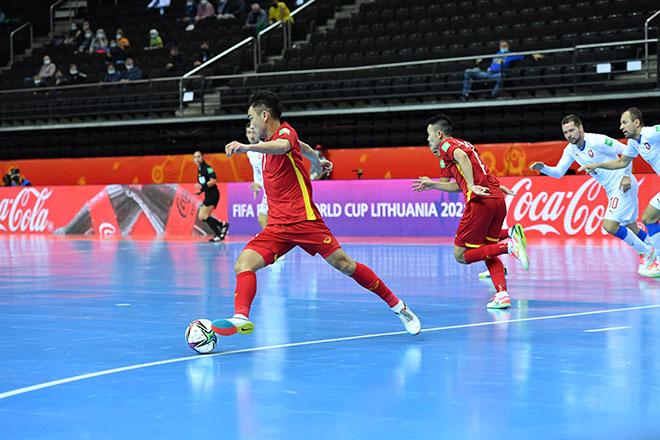 Vỡ òa ĐT futsal Việt Nam khiến CH Séc choáng, lấy vé đi tiếp ở World Cup - 7