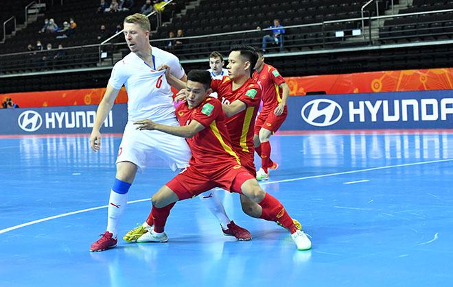 Vỡ òa ĐT futsal Việt Nam khiến CH Séc choáng, lấy vé đi tiếp ở World Cup - 4