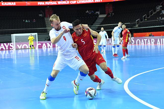Vỡ òa ĐT futsal Việt Nam khiến CH Séc choáng, lấy vé đi tiếp ở World Cup - 1