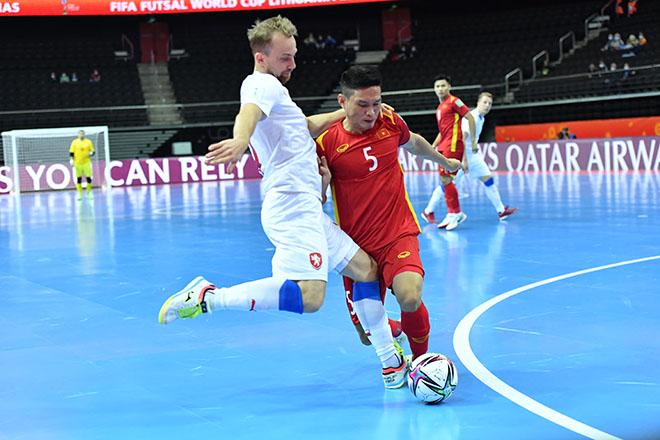 Vỡ òa ĐT futsal Việt Nam khiến CH Séc choáng, lấy vé đi tiếp ở World Cup - 9