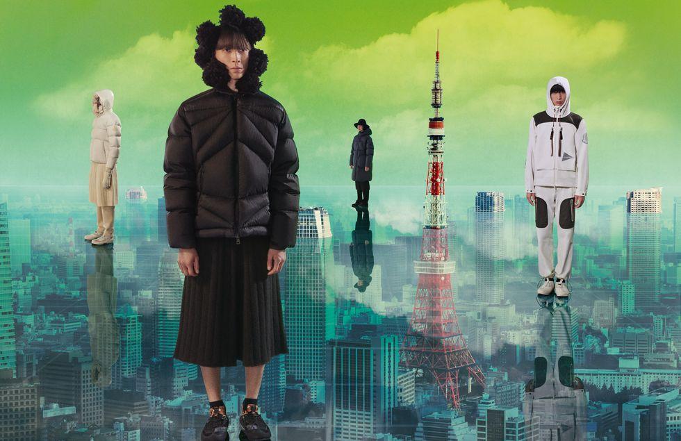 """Moncler tạo cú sốc với khái niệm """"nghỉ ngơi"""" tại Tokyo - 3"""