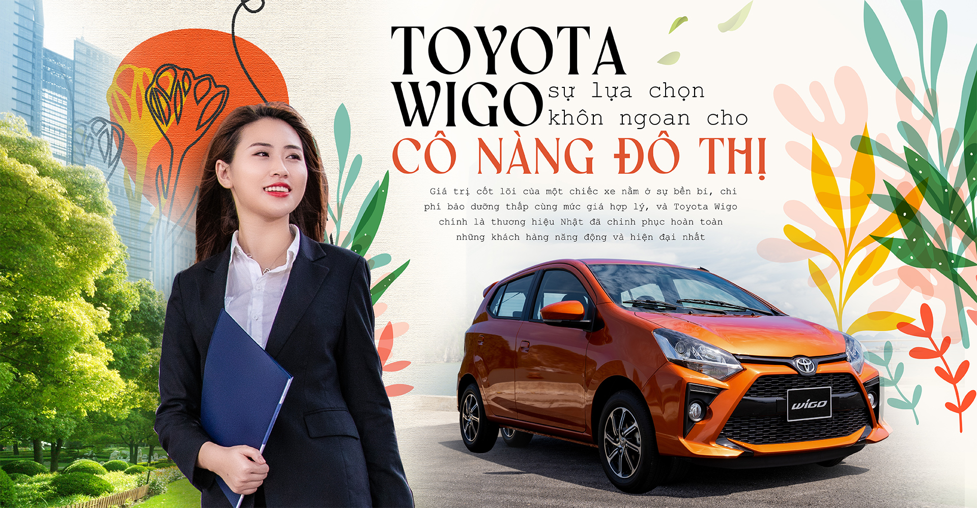 Toyota Wigo – sự lựa chọn khôn ngoan cho cô nàng đô thị - 1