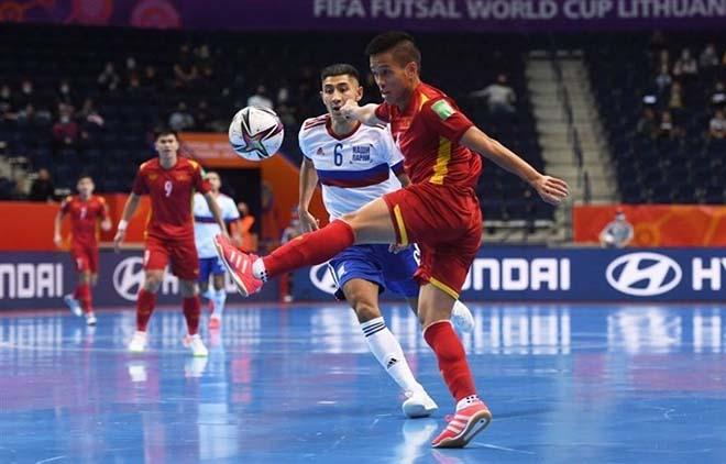 Kết quả bóng đá futsal World Cup, Việt Nam - Nga: Kịch chiến 5 bàn, chiến đấu quả cảm - 1