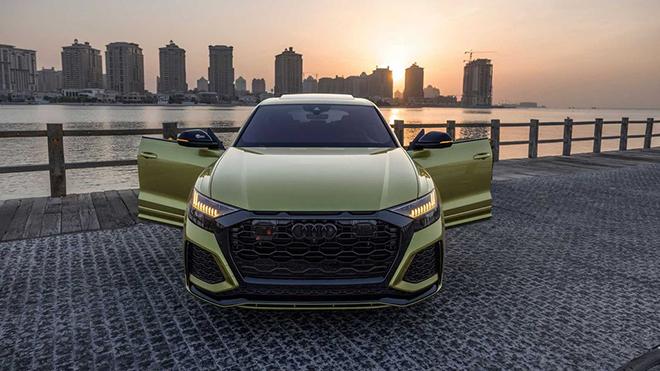 """""""Hàng thửa"""" Audi RS Q8 Qatar Edition về tay đại gia Trung Đông - 3"""