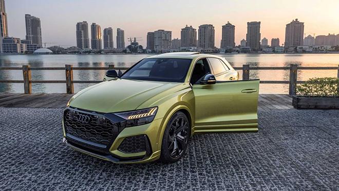 """""""Hàng thửa"""" Audi RS Q8 Qatar Edition về tay đại gia Trung Đông - 6"""