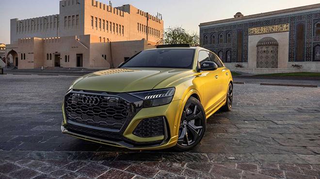 """""""Hàng thửa"""" Audi RS Q8 Qatar Edition về tay đại gia Trung Đông - 11"""