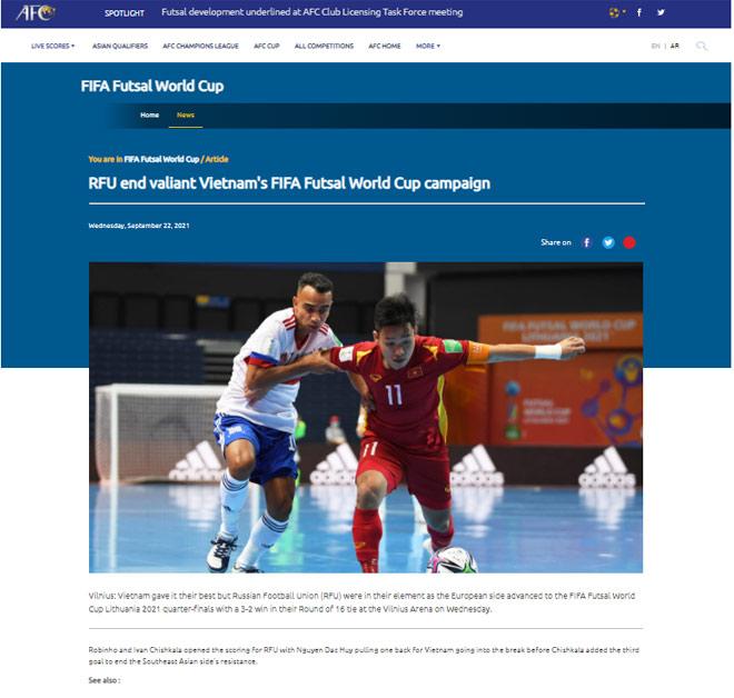 Việt Nam 2 lần xé lưới á quân Futsal World Cup: FIFA khen chiến công lịch sử - 5
