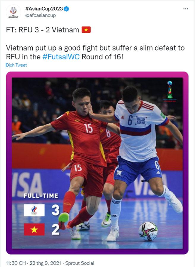 Việt Nam 2 lần xé lưới á quân Futsal World Cup: FIFA khen chiến công lịch sử - 6