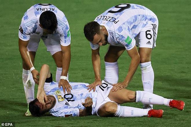 Chấn thương Messi diễn biến đáng lo ngại, có kịp bình phục đấu Man City? - 4