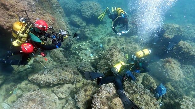 Đi lặn biển, tình cờ tìm được hàng chục đồng tiền vàng 1.500 năm - 1