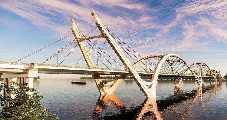 Toàn cảnh dự án xây dựng cầu Trần Hưng Đạo 9.000 tỷ bắc qua sông Hồng - 1