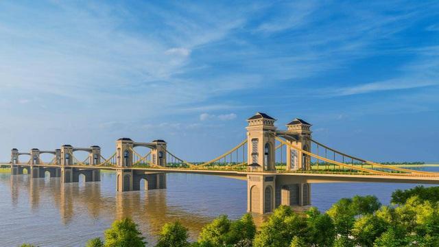 Toàn cảnh dự án xây dựng cầu Trần Hưng Đạo 9.000 tỷ bắc qua sông Hồng - 3