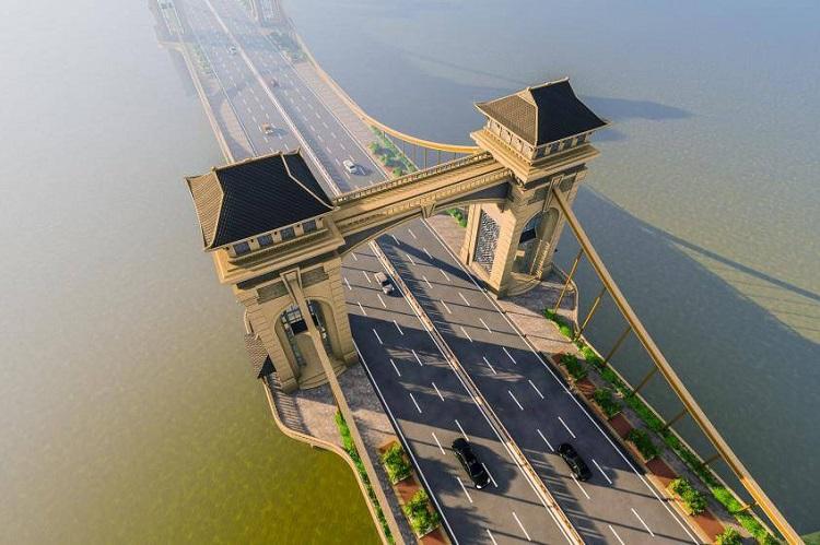 Toàn cảnh dự án xây dựng cầu Trần Hưng Đạo 9.000 tỷ bắc qua sông Hồng - 4