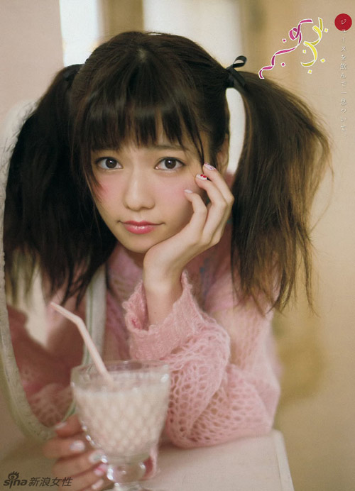 Gương mặt trẻ thơ của nữ ca sĩ Nhật 20 tuổi - 1