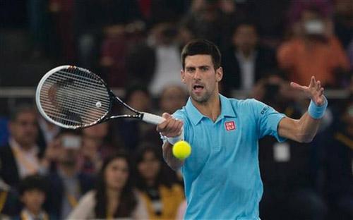 Djokovic – Tsonga: So kè quyết liệt (Giải tennis Ngoại hạng)