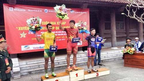 Chặng 8 cuộc đua xuyên Việt Cúp Quốc phòng 2014