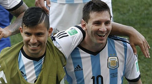 Messi háo hức muốn đánh bại Aguero