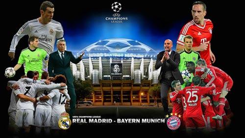 Ứng viên vô địch C1: Real và Bayern nặng ký nhất