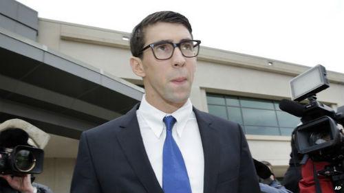 Vi phạm giao thông, Michael Phelps bị tù treo 1 năm