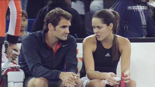 """Ivanovic ca ngợi Federer là """"Quý ông đích thực"""""""