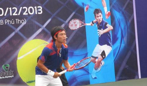 Giải quần vợt Các tay vợt xuất sắc toàn quốc 2014: Cơ hội cho các tay vợt trẻ