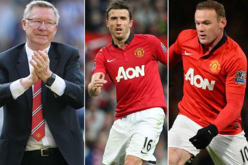 Phớt lờ Rooney, Sir Alex chọn Carrick hay nhất nước Anh