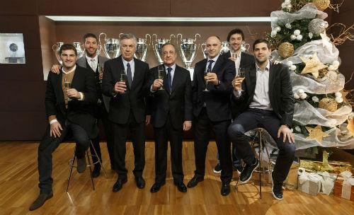 Real & Ancelotti: Năm 2014 no nê