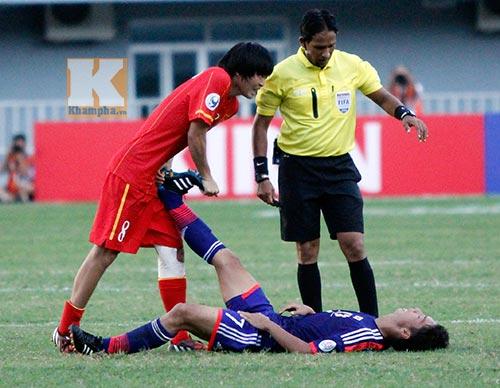 U19 Việt Nam & Thành Lương tranh giải Fair-play 2014
