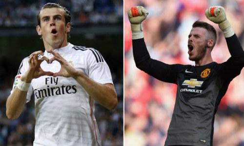 """Bale = 100 triệu bảng + De Gea: Real """"thách đố"""" MU"""