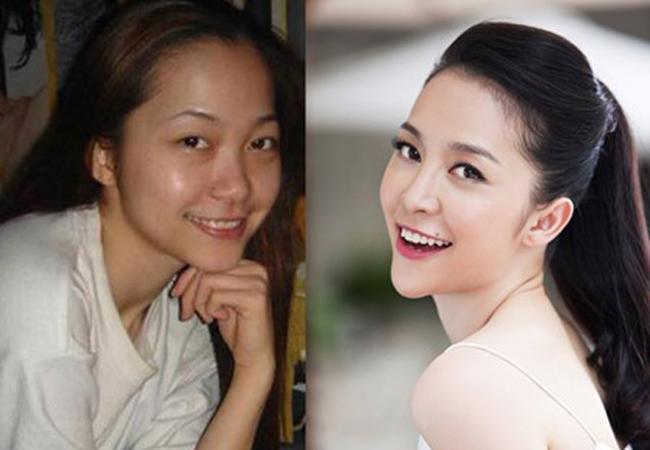 Kinh ngạc gương mặt lạ của Mai Phương Thúy và loạt mỹ nhân Việt - hình ảnh 12
