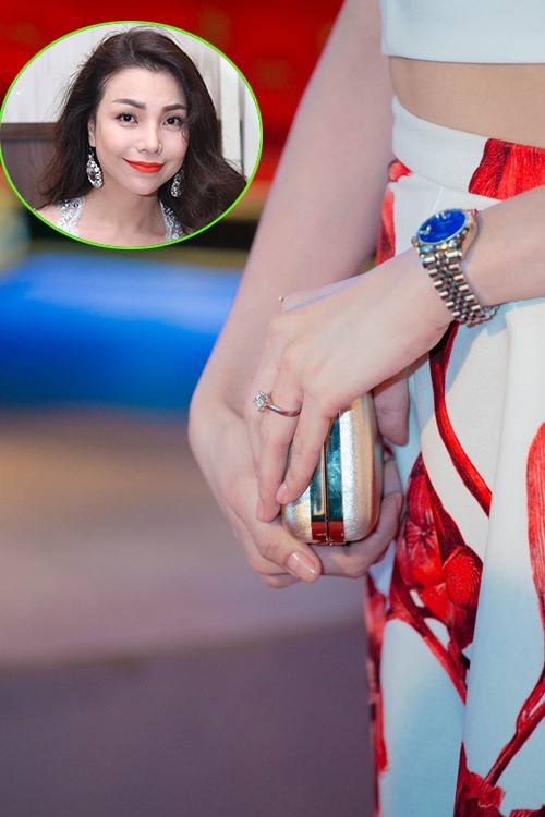 """""""Choáng"""" với nhẫn kim cương đắt đỏ của mỹ nhân Việt - hình ảnh 7"""