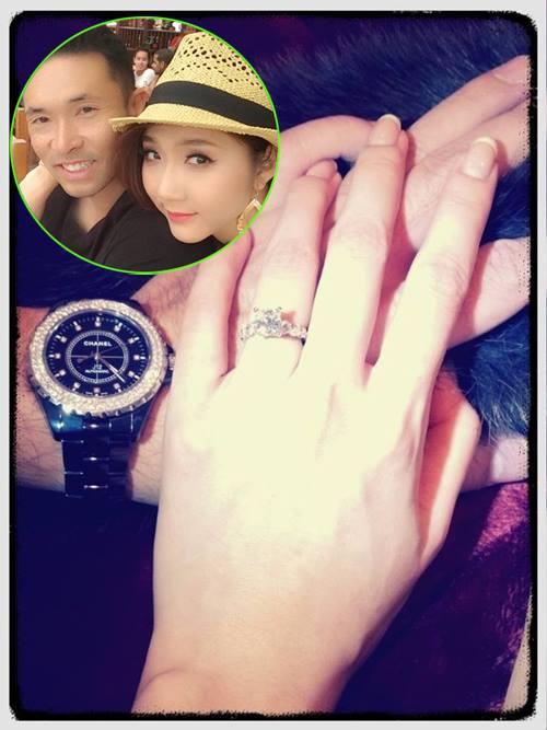 """""""Choáng"""" với nhẫn kim cương đắt đỏ của mỹ nhân Việt - hình ảnh 10"""