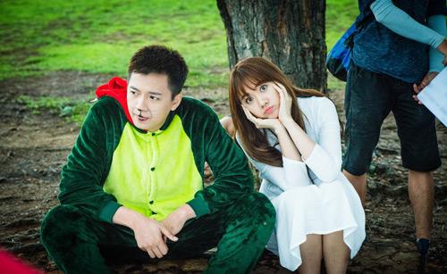 """Hari Won, Ngô Kiến Huy """"nối lại tình xưa"""" trong phim mới - hình ảnh 1"""