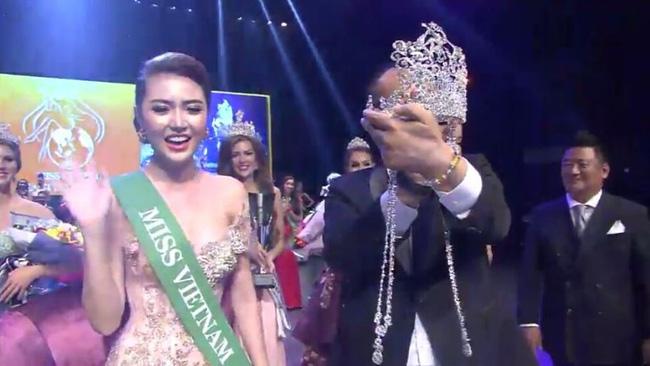 Ngọc Duyên bất ngờ đăng quang Nữ hoàng sắc đẹp toàn cầu - hình ảnh 2