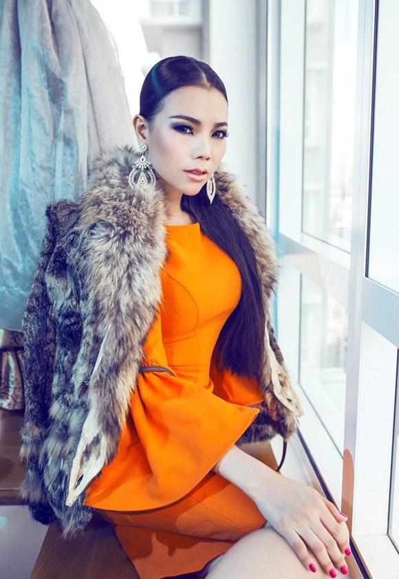 Mê mẩn ngắm mỹ nhân Việt sành điệu với áo lông - hình ảnh 13