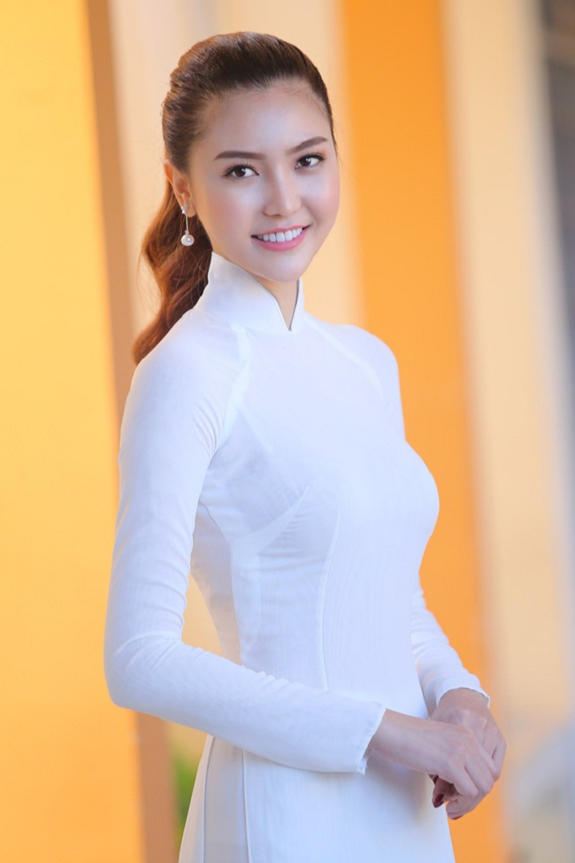 Ngẩn ngơ ngắm giai nhân Việt thả dáng với tà áo trắng - hình ảnh 6