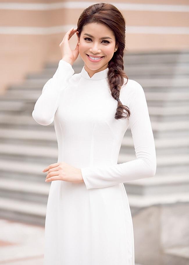 Ngẩn ngơ ngắm giai nhân Việt thả dáng với tà áo trắng - hình ảnh 5