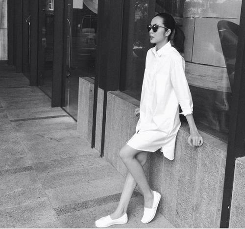 7 bà bầu gợi cảm, xinh đẹp nhất showbiz Việt hiện giờ - hình ảnh 5