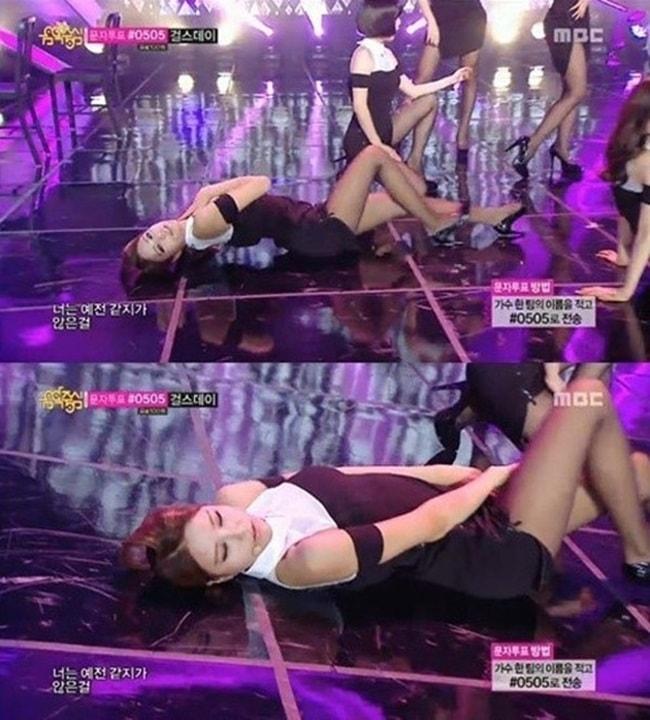 Những lần sao Hàn hứng gạch đá vì trình diễn sexy quá đà - hình ảnh 10