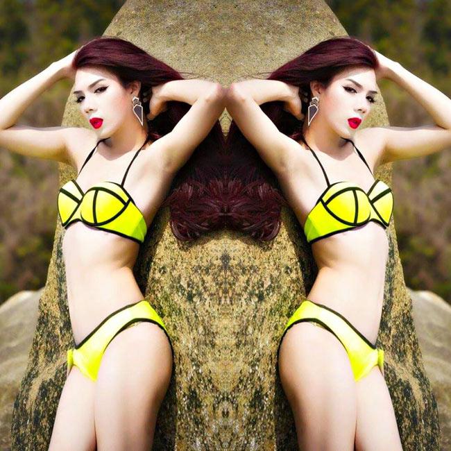 Vẻ đẹp nõn nà của nữ thần chuyển giới đẹp nhất Việt Nam - hình ảnh 3