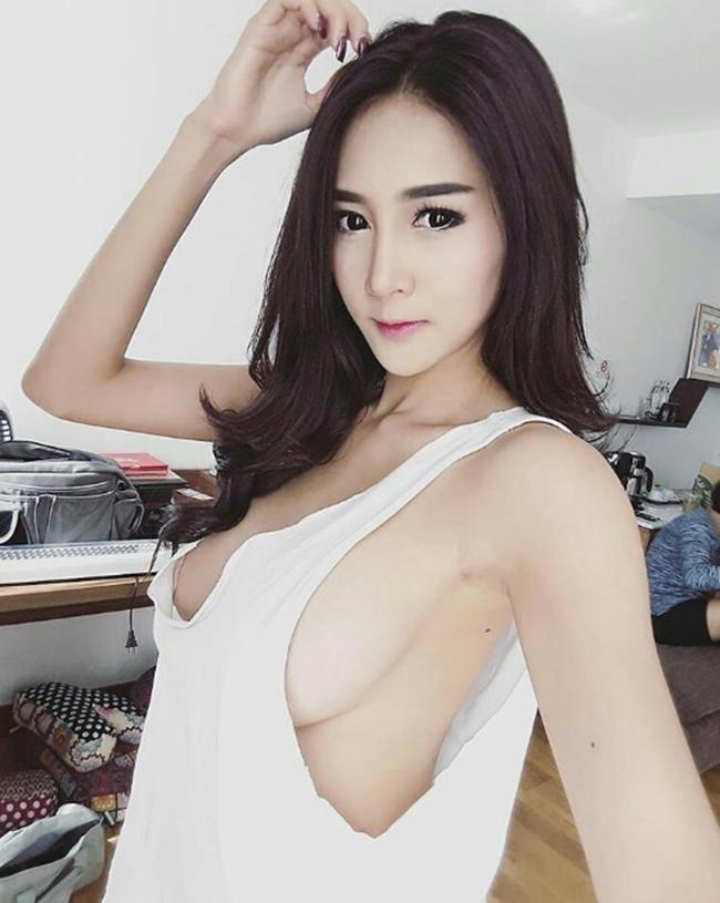 """Con gái Thái đang si mê kiểu áo """"không ai biết mặc để làm gì"""" - hình ảnh 1"""