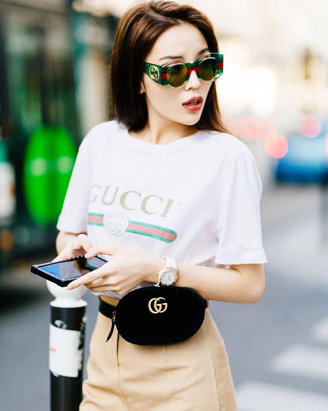 Minh Hằng, Hà Hồ dùng cùng một chiếc túi, ai đẹp hơn ai? - hình ảnh 11