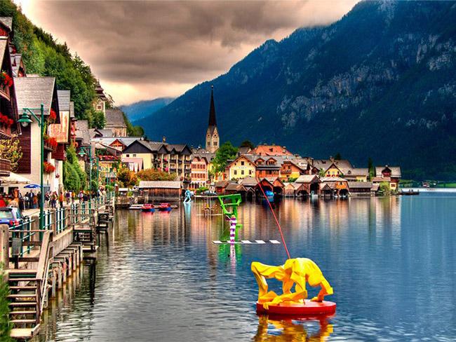 Những thị trấn nhỏ đẹp nhất Châu Âu khiến bạn như lạc vào xứ thần tiên - hình ảnh 8