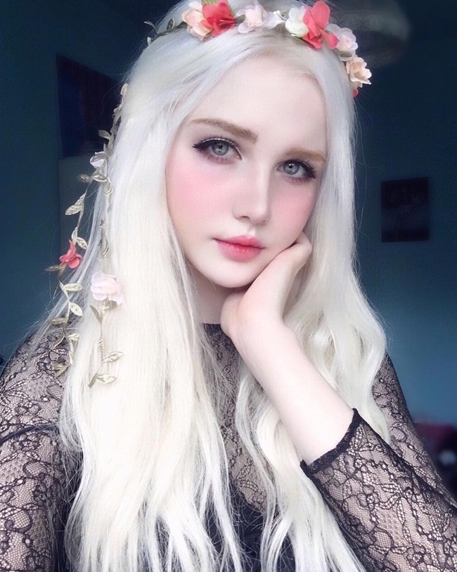 Cô gái lai 18 tuổi sở hữu vẻ đẹp hoàn hảo đến khó tin - hình ảnh 3