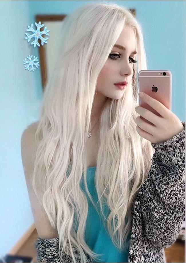Cô gái lai 18 tuổi sở hữu vẻ đẹp hoàn hảo đến khó tin - hình ảnh 4
