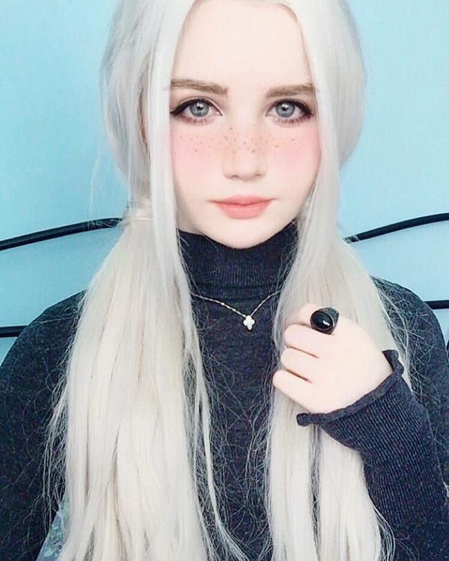 Cô gái lai 18 tuổi sở hữu vẻ đẹp hoàn hảo đến khó tin - hình ảnh 9
